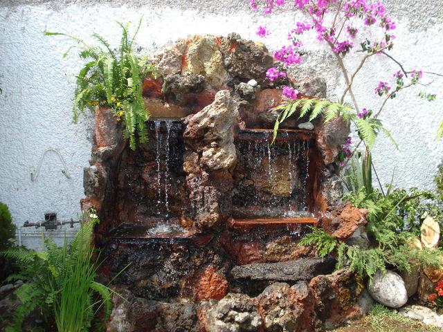 Cascada decorada jardineria xochimilco for Jardineros en xochimilco