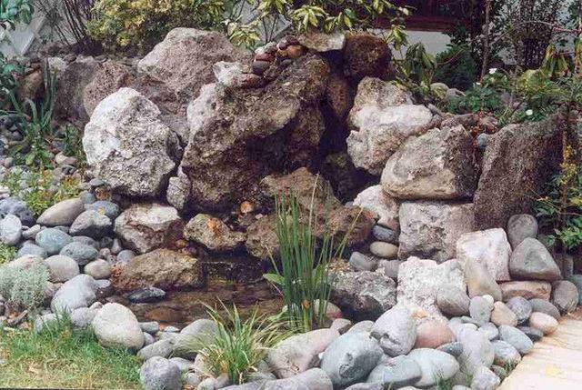 Cascada rustica jardineria xochimilco for Jardineros en xochimilco