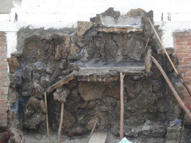 Cascada en construcci n jardineria xochimilco for Jardineros en xochimilco